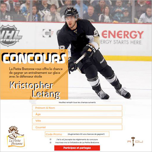 Concours Kristopher Letang